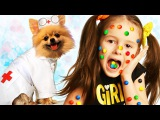 BАD BABY МАША в ШОКОЛАДЕ! LOTS OF CANDY CHALLENGE CHOCOLATE FACE