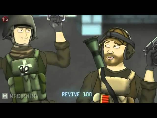 Друзья по Battlefield Разряд 2 серия (1 сезон )