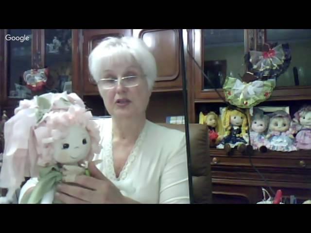 21Как сделать пупсика из ткани..Como hacer muñeca bebe.