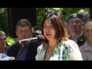 Открытие памятника Александру Позыничу в Александровском саду Новочеркасска
