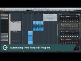 Cubase Quick Tips - Automation #3 - Automating Third-Party VST Plug-ins