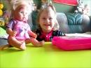Кукла Катя Бэби Бон на приеме у доктора.The Baby Born doll Katya on reception at the doctor.