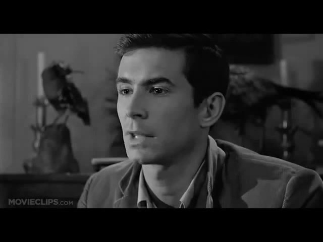 We all go a little mad sometimes-Psycho(1960)