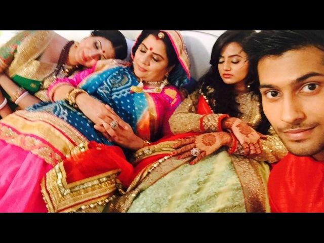 Swaragini - Swara -Sanskar-Ragini-Laksh All Masti On Set.(HD)