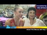 Grand Prix Moscow 2017 Rhythmic gymnastics   Alina Kabaeva  Irina Viner  Iuliya Bravikova