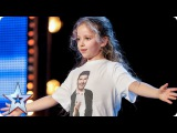 Issy Simpson is a real life Harry Potter   Auditions Week 2   Britain's Got Talent 2017