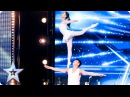 Gao Lin Liu Xin stun with their elegant acrobatics | Auditions Week 2 | Britain's Got Talent 2017