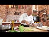 Молекулярная кухня. Fritto ne fritto. Рыба в глюкозе