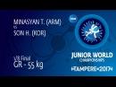 1/8 GR - 55 kg: T. MINASYAN (ARM) df. H. SON (KOR) by VSU1, 11-2