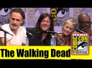The WALKING DEAD Comic Con 2017 Full Panel Andrew Lincoln Norman Reedus Jeffrey Dean Morgan
