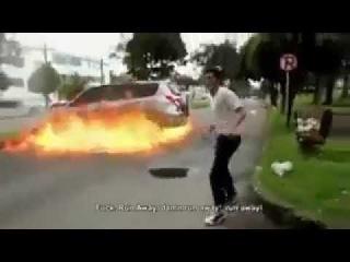 авария со взрывом
