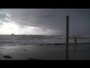 Туапсе.Дикий пляж. Шторм