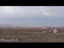 Сирийские военные ведут огонь по боевикам. Syrian army attacks ISIS