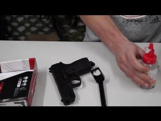Самый мощный пневматический пистолет с blow-back (функцией подвижного затвора)