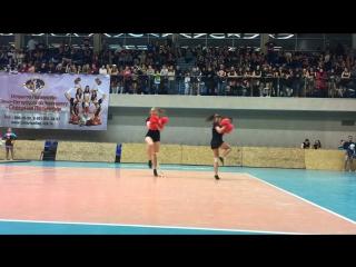 Кубок СПб Cheer-freestyle Pom doubles team Titans 12.17.16
