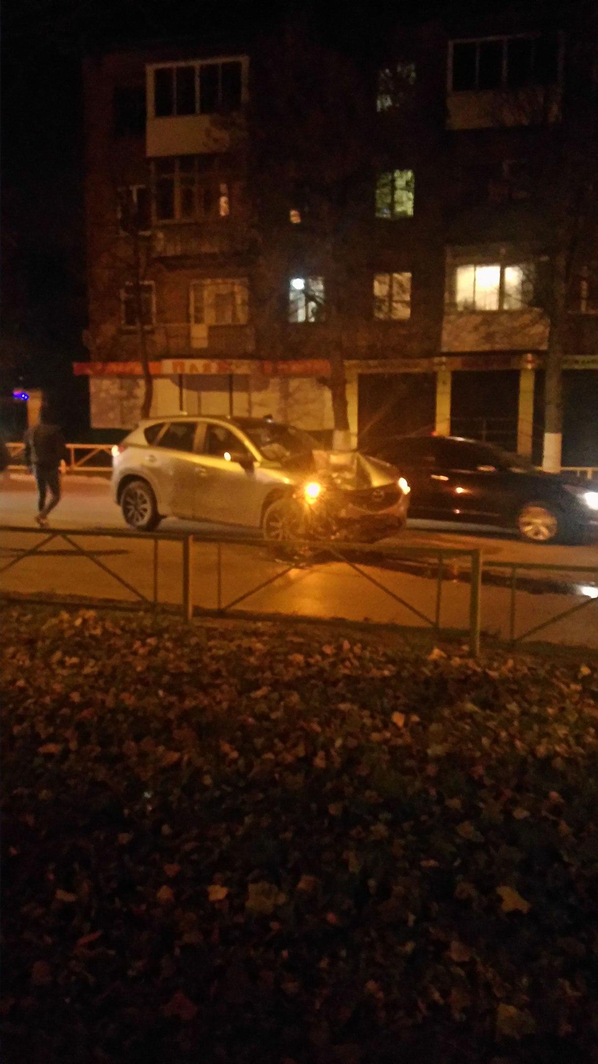 Авария в центре Узловой