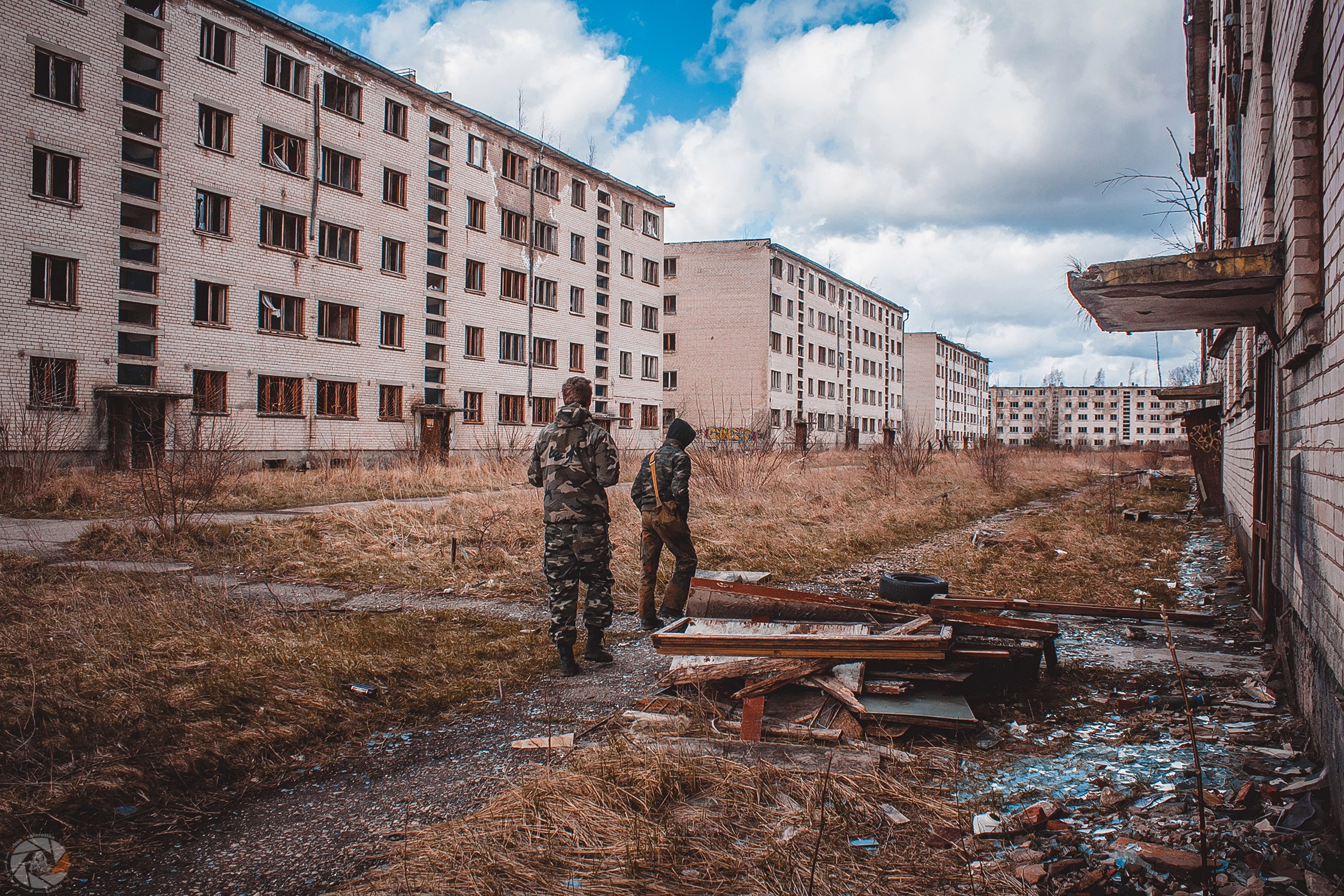 самое интересное, фото брошенные военные городки отказ вредных
