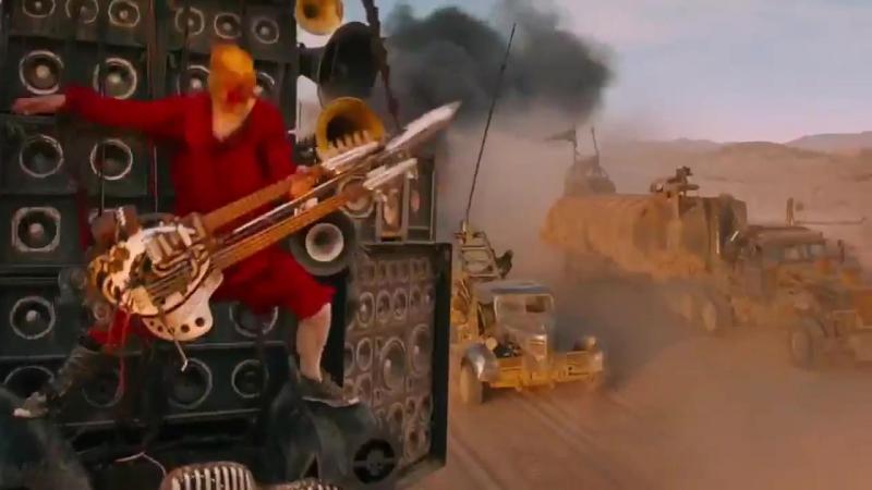 Mad Max Fury Road - Coma doof warrior