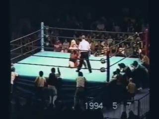 Alundra Blayze vs. Bull Nakano - WWE Yokohama, Japan May 7, 1994 - FanCam -
