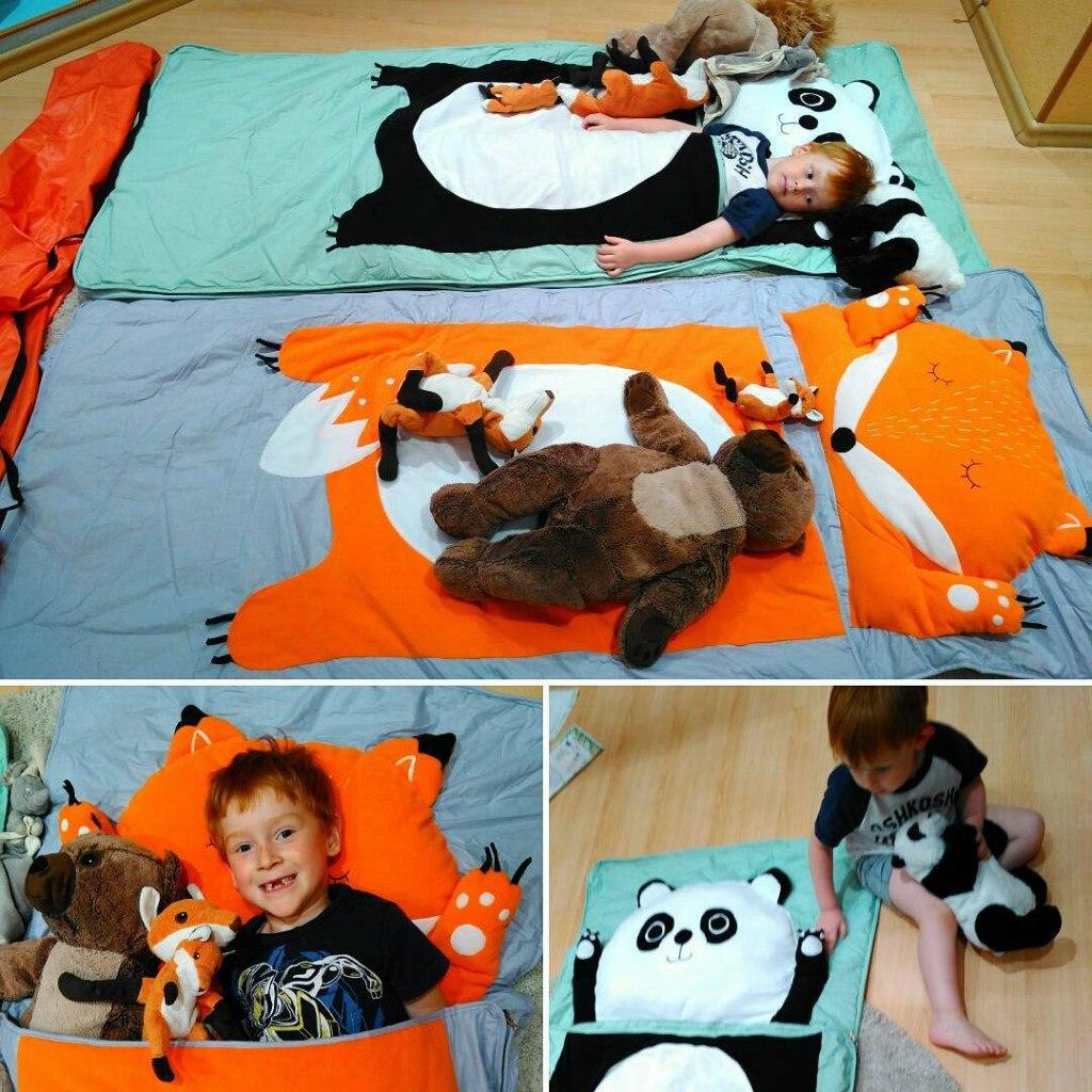 Слипики для детей: спальные комплекты Зоосад для новорожденных 53