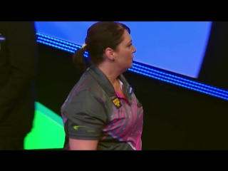 Casey Gallagher vs Corrine Hammond (BDO World Darts Championship 2017 / Quarter Final)