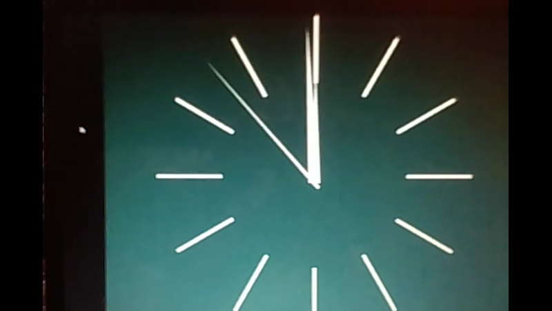 Часы и заставка Время (Реконструкция)