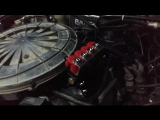 Обзор установки ГБО на МОНОВПРЫСК! (Audi 89)!