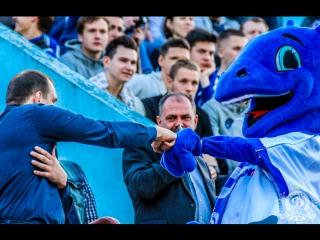 Динамо vs Гомель - предматчевая атмосфера.