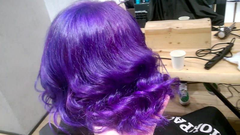 Violet hair 13.07.17