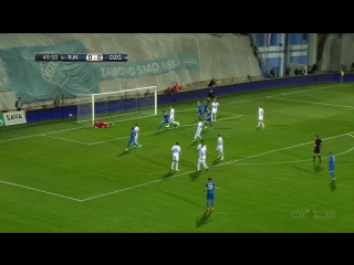 Rijeka - Dinamo 1-1, sazetak (HNL 27. kolo), 08.04.2017. Full HD