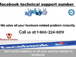 Dial 1-866-224-8319 facebook tech support to Acquire Instant Help
