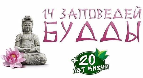 🌸 14 заповедей Будды 🌸 1. Самый большой враг в жизни человека - это
