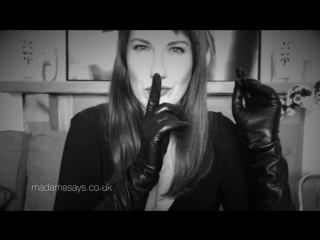 Femdom Hypnosis Black Leather Preview