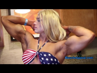Hot Muscle Girl Julia Fory