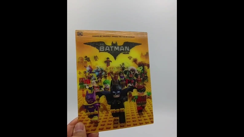 MG8 The Lego Batman Movie Lenticular Front Live