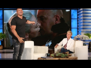 Vin Diesels Side of the Charlize Theron Kiss Story RUS SUB