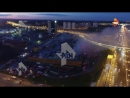 Пожар в ТЦ Рио с коптера