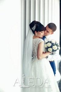 Наша 👰💍#невестаАледа #brideAleda Кремлякова Эля в платье  👗 Бриар 😍 #gabbiano