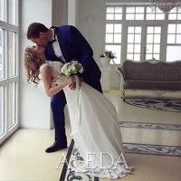 Наша 👰💍#невестаАледа #brideAleda Водорацкая Анастасия в платье  👗 Синклар😍 #gabbiano