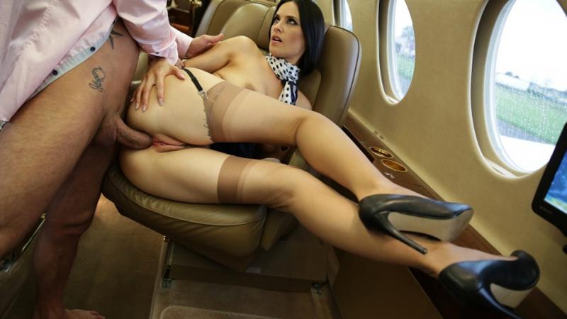 Короткие порно ролики стюардессы