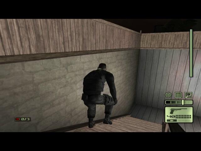 Splinter Cell 1 [PS2/PCSX2/HD] Walkthrough / Перепрохождение – Миссия 2: Полицейский участок