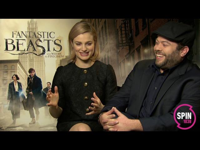 Sarina Bellissimo interviews Alison Sudol Dan Fogler (FANTASTIC BEASTS)