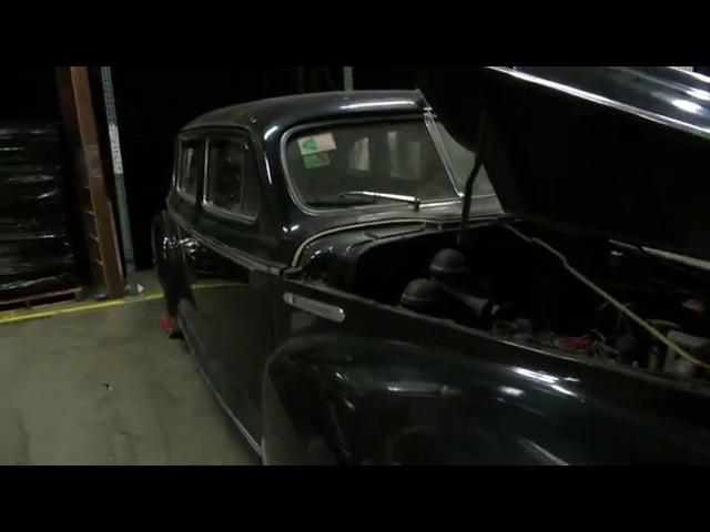 Very rare Soviet Union made 1947 Limousine ZIS 110 4th video