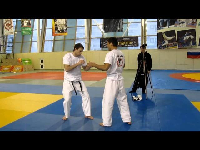 Chinzo Machida - fight training (part4)