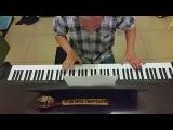Седая ночь Ласковый май Юра Шатунов пианино кавер piano cover
