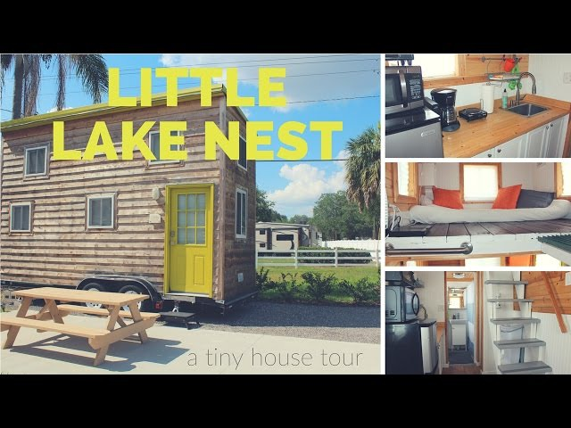 Tiny House Tour: Tiny Lake Nest in Winter Haven, FL