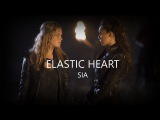 Clarke and Lexa  Elastic Heart - SIA