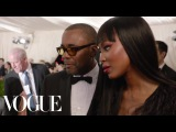 Naomi Campbell and Lee Daniels at the Met Gala 2015  China Through the Looking Glass