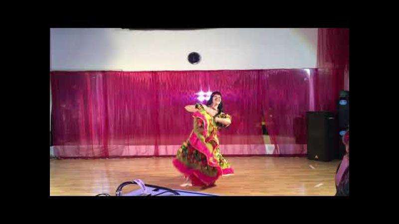 Цыганский танец Шурьяки. Исполняет Алина Цветкова в студии Льюис 26 ноября 2016