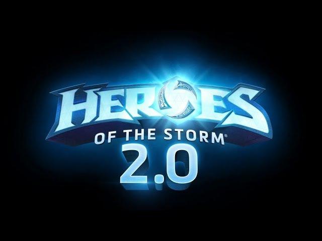 [Heroes of the Storm 2.0 beta] Первый взгляд на бету HotS beta
